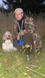 Vani in Finnish Basset hunting champion competition year 2006 3.th plase and new Finnish hunting champion