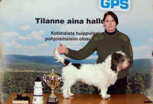 Pakulla on ikää jo 9 vuotta, mutta hienosti hän suoriutui kilpailusta sijoittuen toiseksi.